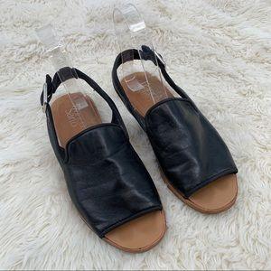 Franco Sarto Valonia Slingback sandals black Sz 6